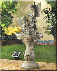 Fairy Solar Water Fountain