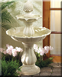Acorn Design Fountain